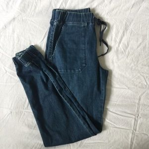 UNIQLO Denim Joggers